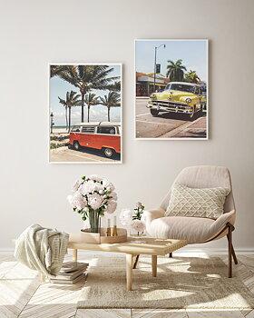 Poster Fort Lauderdale Beacher Miami by Mujo