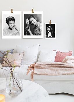 Poster Ella Fitzgerald by History art