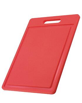 Skärbräda Röd 35 x 25 x 1,20 cm.