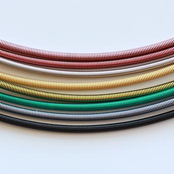 Chains - Spiralled Thread - nylon necklace