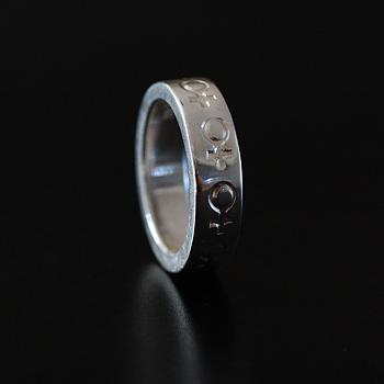 Venus - ring i silver