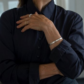 Venus - stelt armband i silver