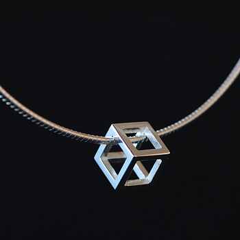 Rå - sterling silver pendant