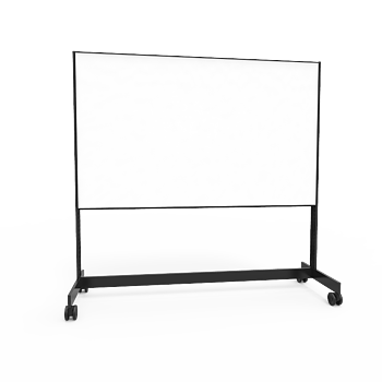 Writing board on wheel stand 2000 Double Black
