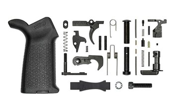 AR15 Enhanced Lower Parts Kit - Anodized (C)