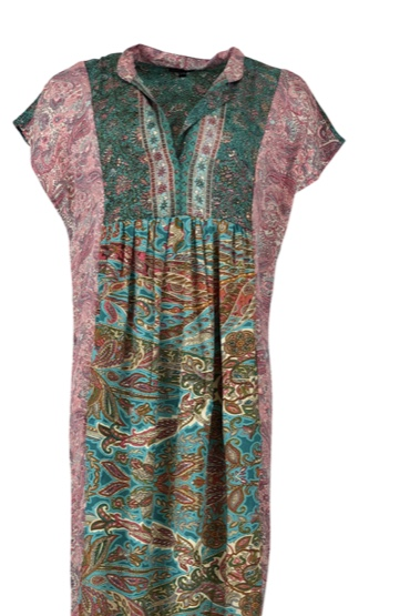 Luna Sleeveless Kaftan Dress