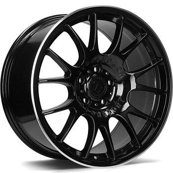 "18"" 79 Challenger Gloss Black/pol 5/120"