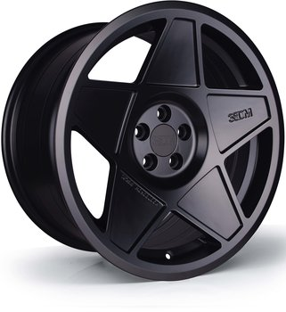 3SDM 0,05 (Satin Black) - 8,5x18 5x100 ET35 CB73,1