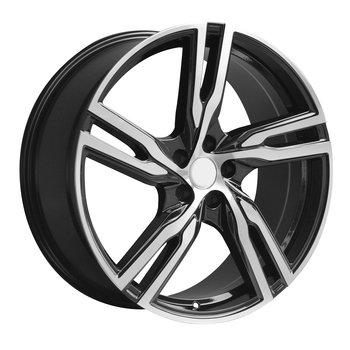 "18"" R-spoke Grey/pol 5/108"