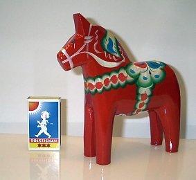 Dalahäst Röd 15 cm