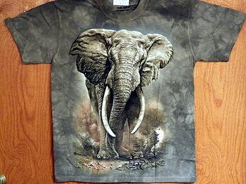 Elefant T-shirt Afrikans Elefant