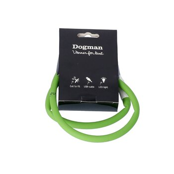 Dogman LED Halsband Silicon