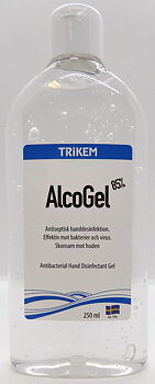 "AlcoGel 85% 250ml  "" RENONS ""Trikem"