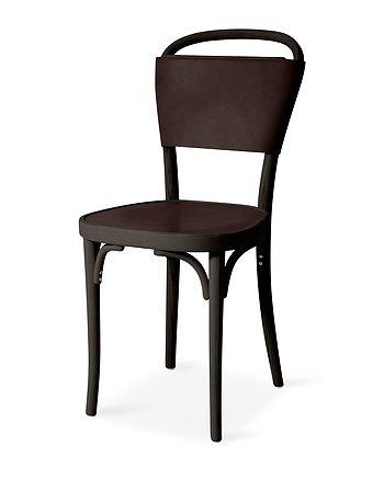 Stol, VILDA 3, Jonas Bohlin,  Brun / Mörkbrunt läder