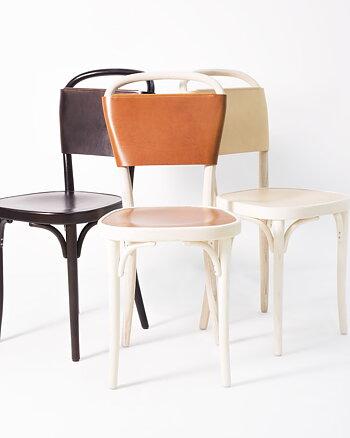 Stol, VILDA 3, Jonas Bohlin,  Brun / Brunt läder