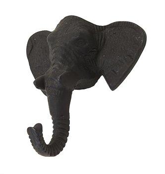 Väggkrok Elefant  - Matt Grå