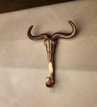 Väggkrok  - Bull Gold