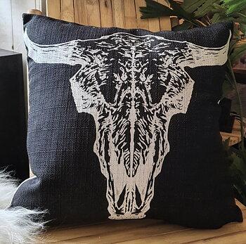 Kuddfodral Bull - Svart