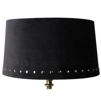 Lampskärm Nitar - Svart 33cm