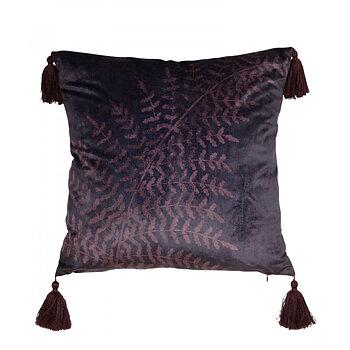 Kuddfodral - Purple Tassel