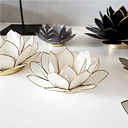 Lotus Ljushållare S - Naturvit