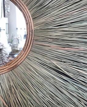 Spegel Boho Nature - 80 cm