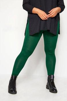 Leggings med resårmidja, grön