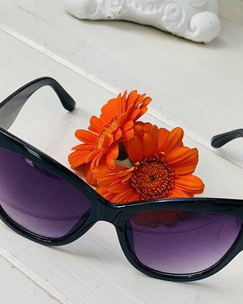 Solglasögon Sunlight Svarta Glas Lila