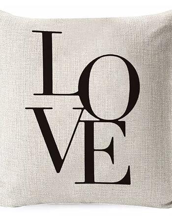 Kuddfodral Love Begie