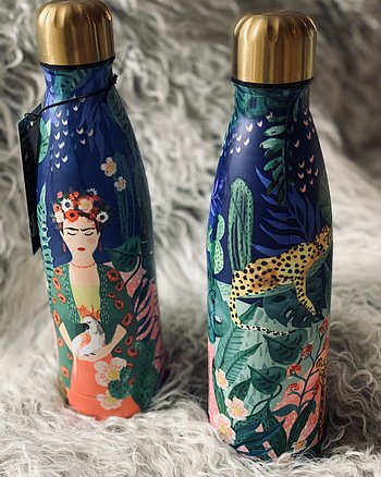 Flaska Frida Kahlo Guld Multi