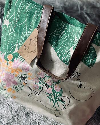 Väska Mumin Grön