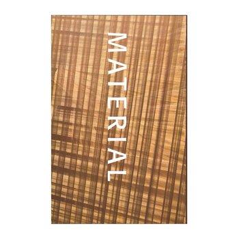 Material: Filosofi, Estetik, Arkitektur