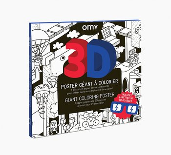 OMY 3D Coloring Poster - Video games
