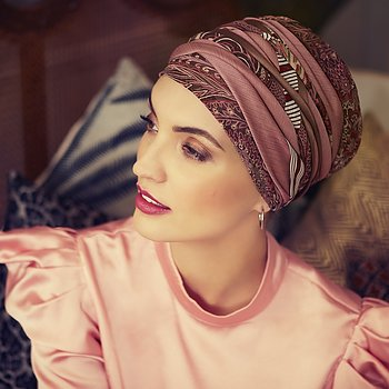 Scarlett-Boho Turban set