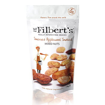 Mr Filbert's Somerset Applewood rökt nötmix