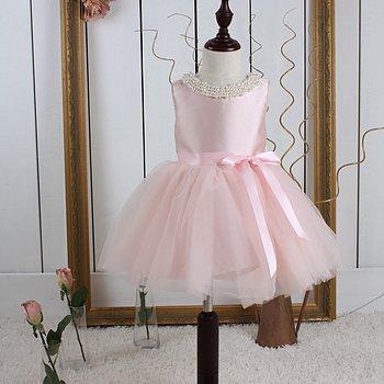Rosa prinsessklänning i tyll Twill