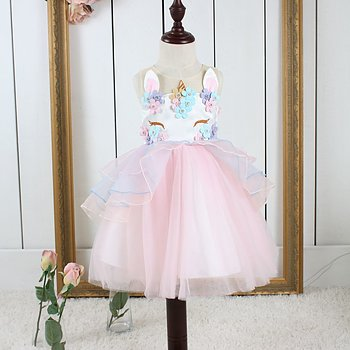 Pink fairytail dress Unicorn