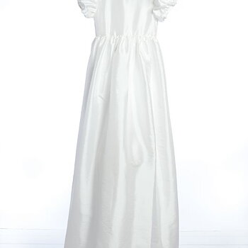 Baptism dress satin