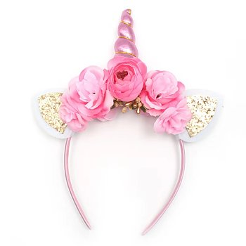 Headband Unicorn pink horn