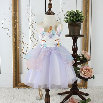 Purple fairytail dress Unicorn