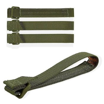 "Maxpedition Tactie 5"" Attachment Straps - 4 X Rem Till Molle - Grön"
