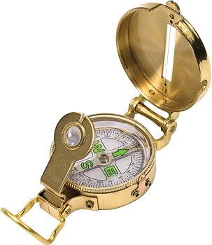 Ndur - Heritage Lensatic Compass Brass - Kompass I Mässing