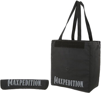 Maxpedition - Roll Up Tote Black Svart