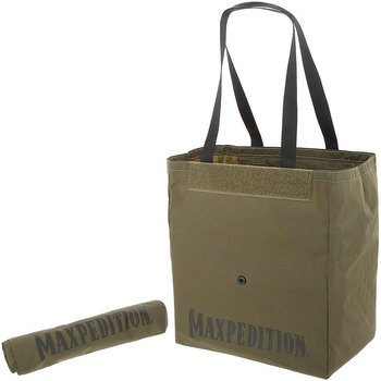 Maxpedition - Roll Up Tote Black Grön