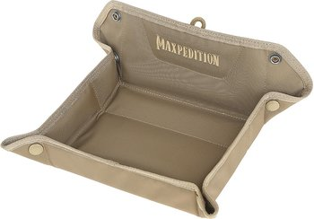 Maxpedition - AGR FTV Folding Travel Valet EDC Tray - Khaki