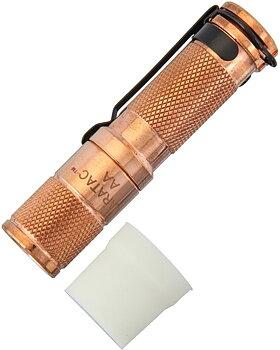 Maratac - AA Copper Flashlight - LED Ficklampa Av Koppar