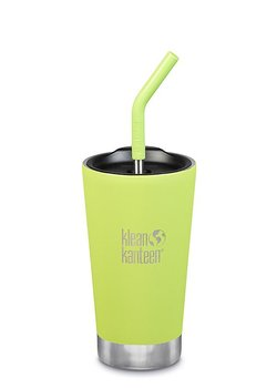 Klean Kanteen - Isolerad Tumbler 473 Ml Med Sugrör - Juicy Pear