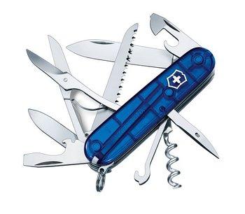 Victorinox - Huntsman Blå Transparent Fällkniv