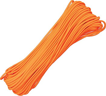 Atwood Rope MFGl 550 Paracord Neon Orange