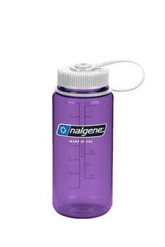 Nalgene - Vattenflaska Tritan Lila Wide Mouth 0,5 Liter